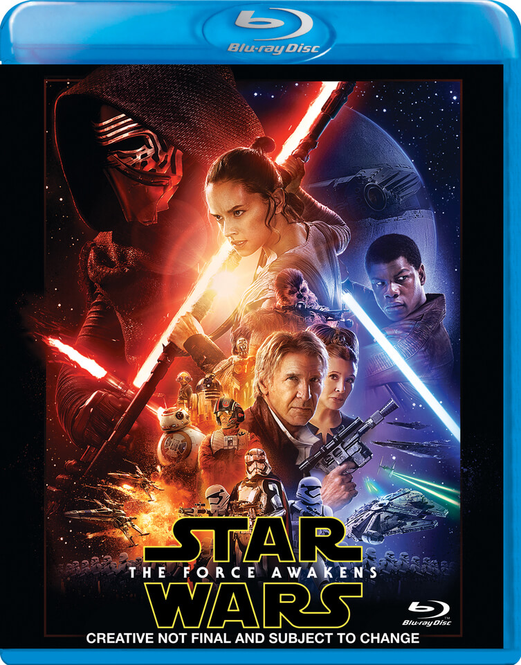 First Look At Star Wars The Force Awakens Bluray Art And Extras
