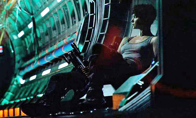 First look at Katherine Waterston In Ridley Scott's Alien: Covenant via Entertainment Weekly