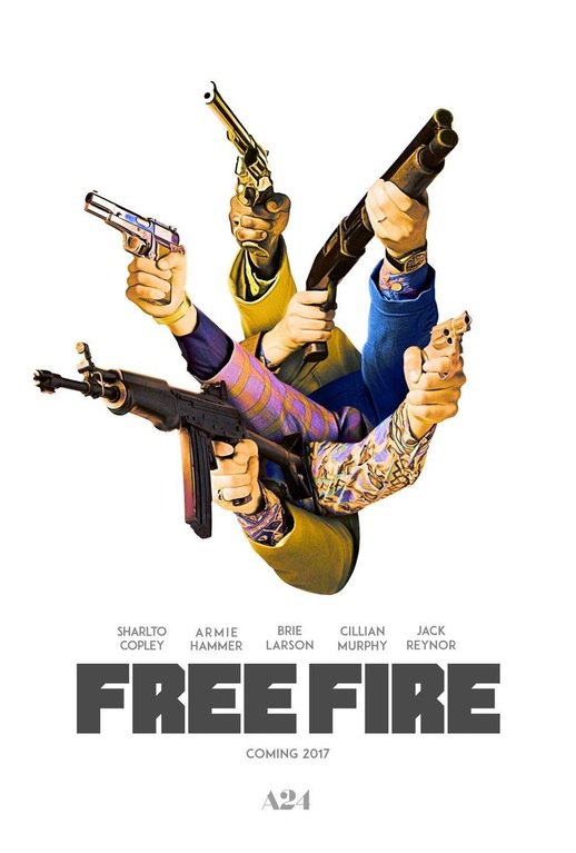 Free Fire Official Poster from A24