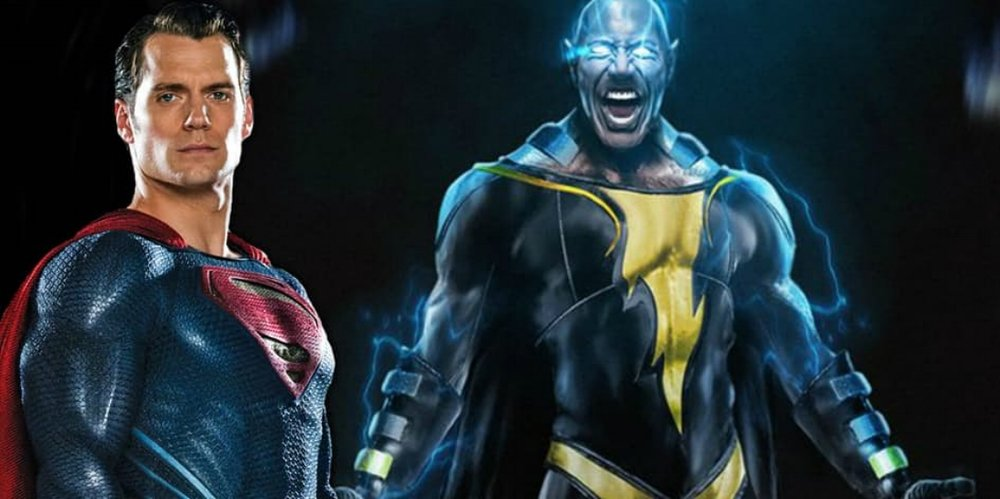the rock teases black adam with a new image of himself henry