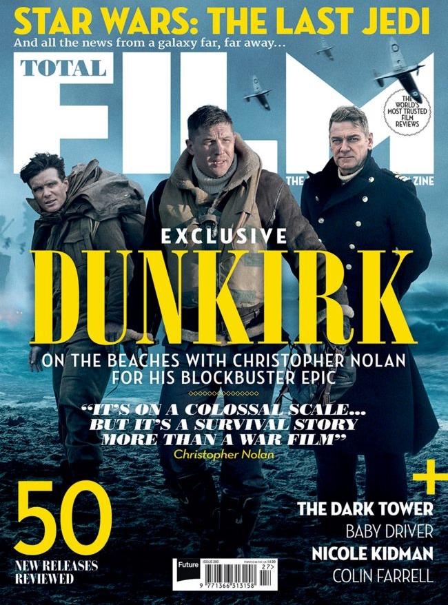 christopher nolan 39 s 39 dunkirk 39 total film magazine cover. Black Bedroom Furniture Sets. Home Design Ideas