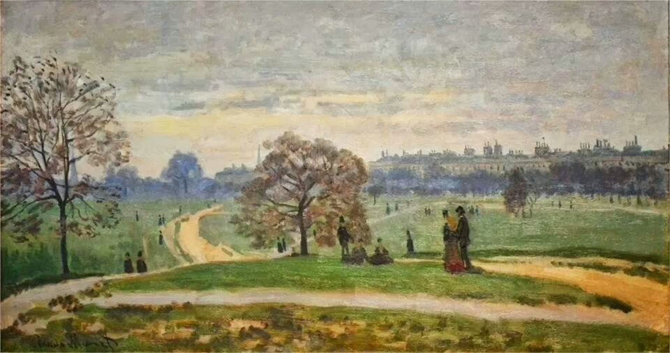 Hyde Park - Claude Monet