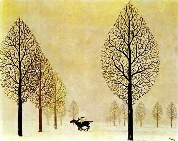The Lost Jockey - R. Magritte