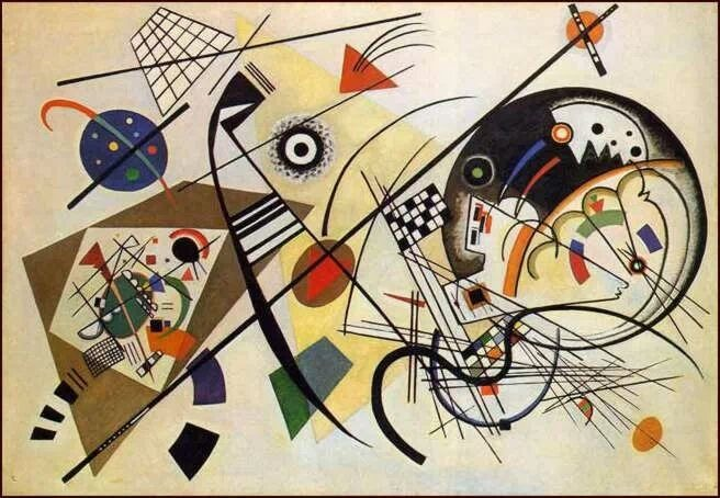 Composition - W. Kandinsky