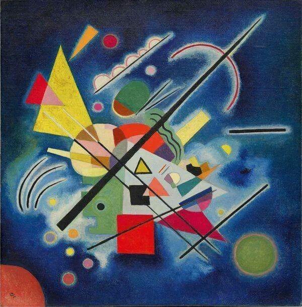 W. Kandinsky - Blue painting