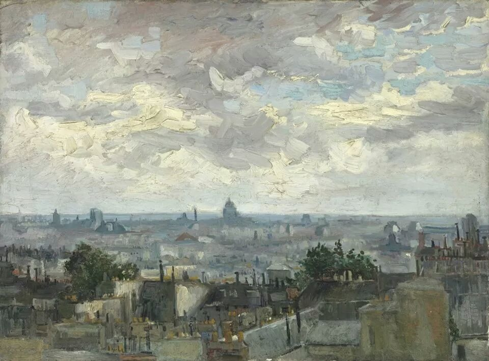 View of Paris - V. van Gogh
