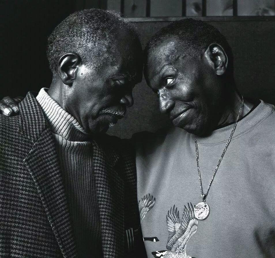 Hank Jones and Elvin Jones