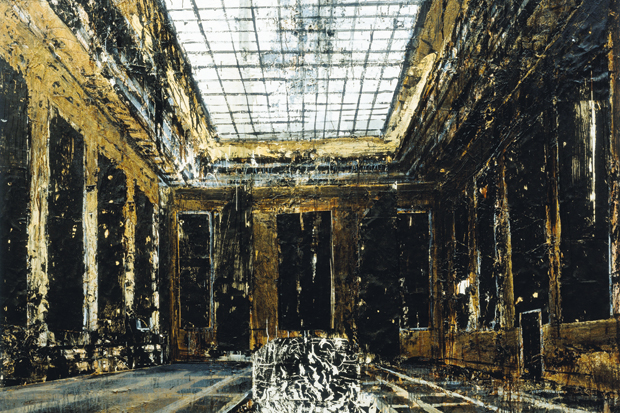 'Interior (Innenraum)', 1981, by Anselm Kiefer