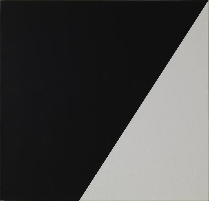 Ellsworth Kelly, Black White, 1988.