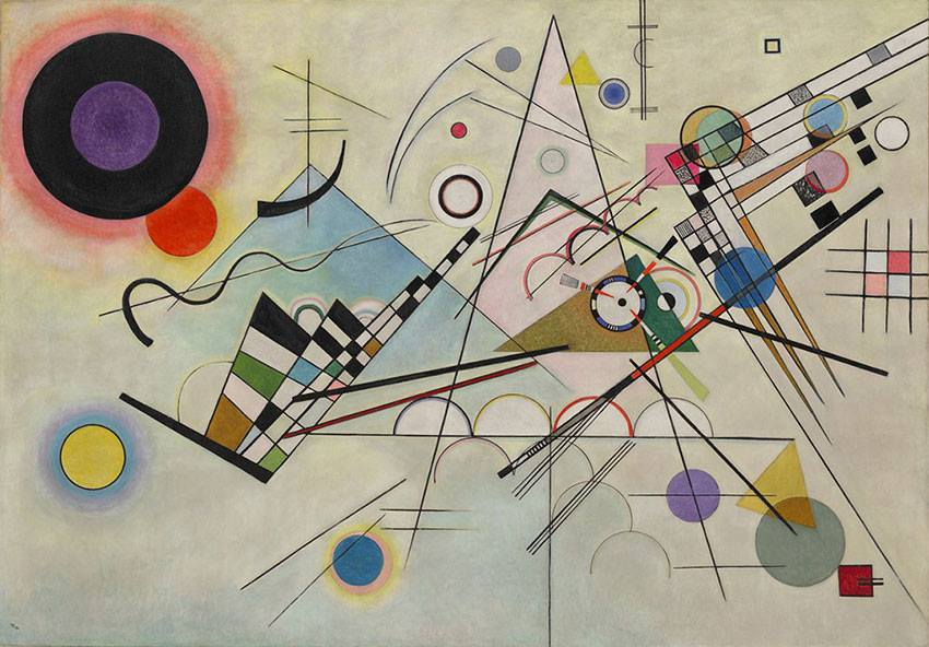 W. Kandinsky - Composition 8