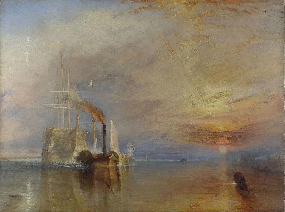 The Fighting Temeraire. 1839, by Joseph Mallord William Turner