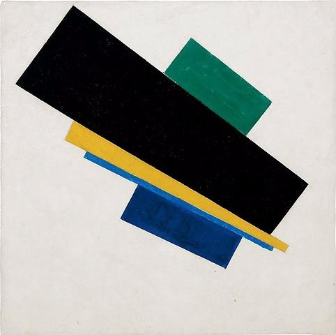 Suprematism, 18th Construction - K. Malevich