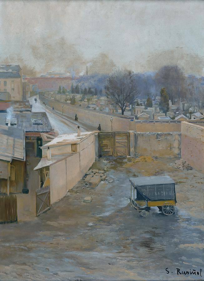 Cementiri de Monmartre 1891 - Santiago Rusiñol.jpg