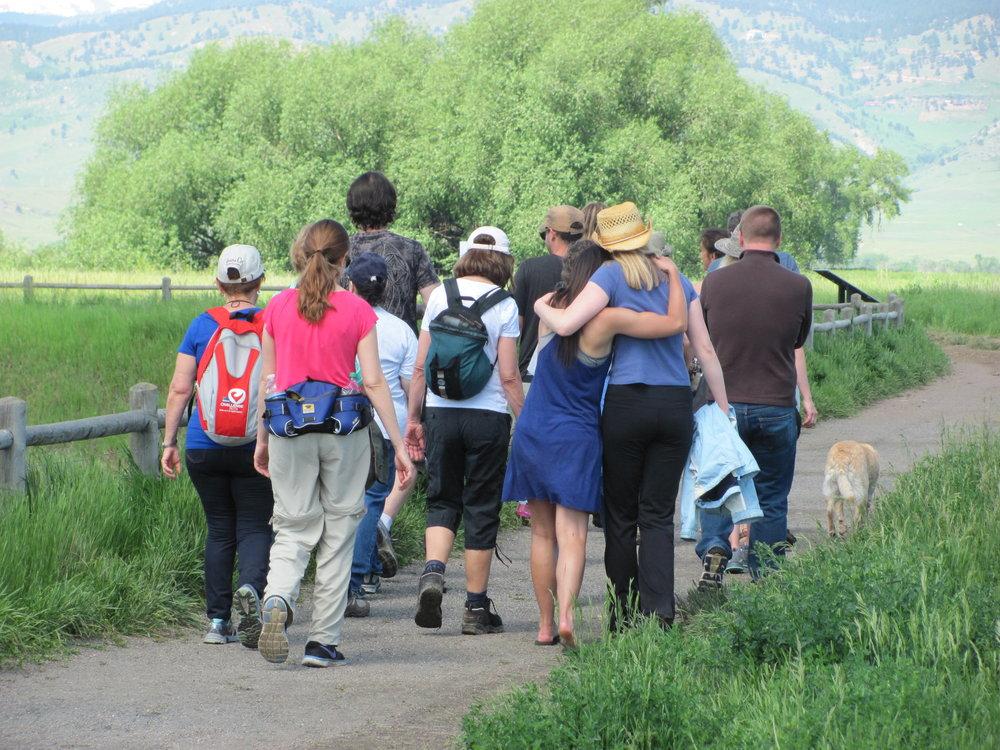Spiritually Human MeetUp hike in Boulder, CO