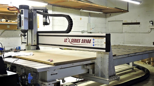 Techno LCX Series 59144 5'x12' CNC Table Router