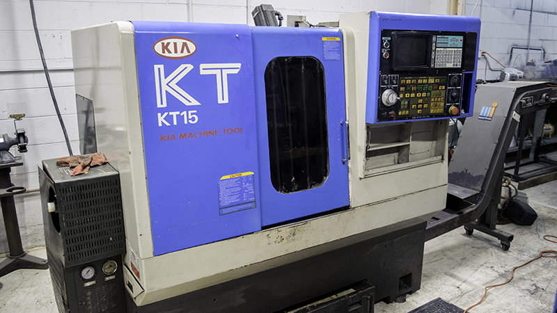 Kia KT15 Turning Center Lathe