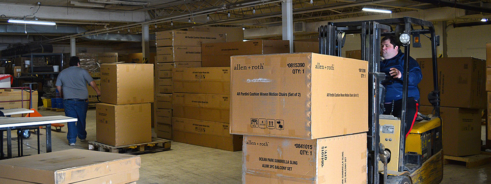 We've got plenty of space to store your products awaiting fulfillment. Let us take care of the dirty work!