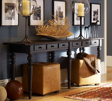sofa table decor pottery barn. Delighful Sofa Table Decor Pottery Barn Plans Console Decorating Y