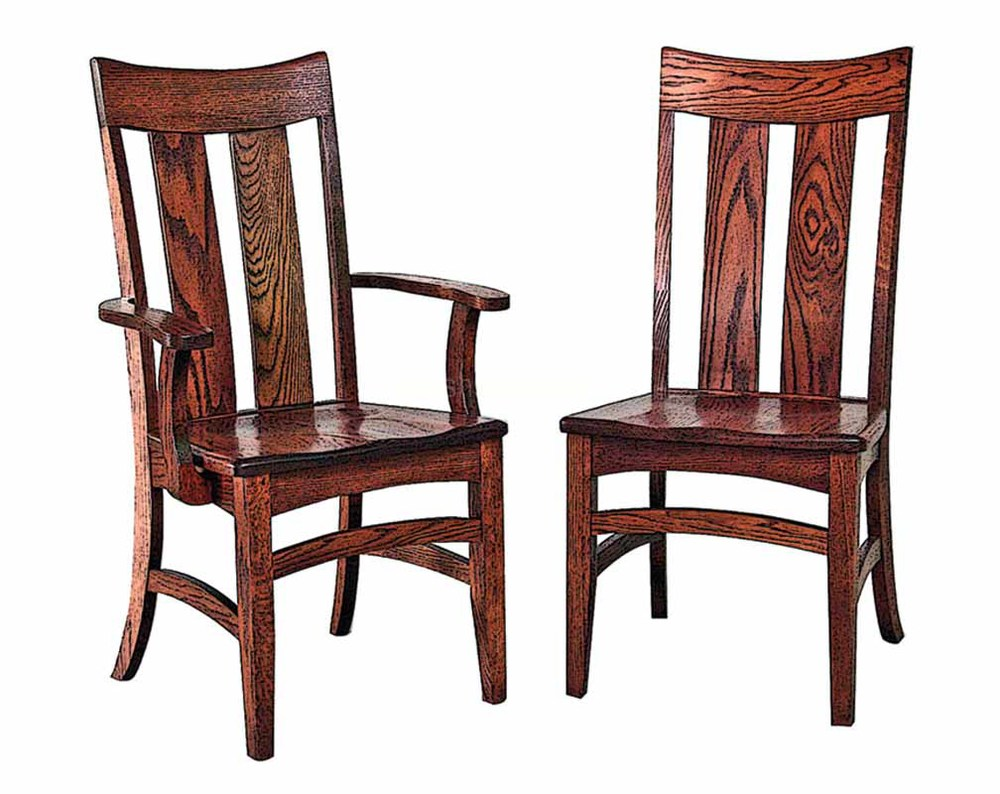 Old Wooden Chair Styles old mission style chair