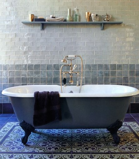 Bathroom Tiles Toronto bold bathroom tile — toronto designers
