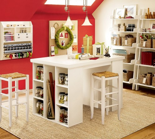knitting and crafts room - 16-495x445