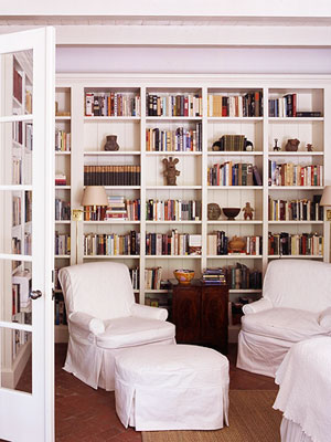 surrounded by books - reading-nook