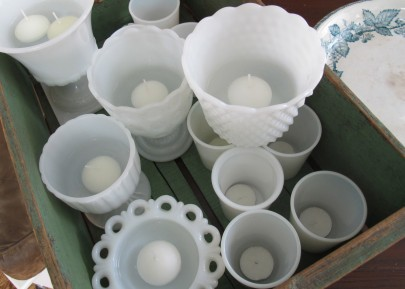 milk glass as candle holders - IMG_0693