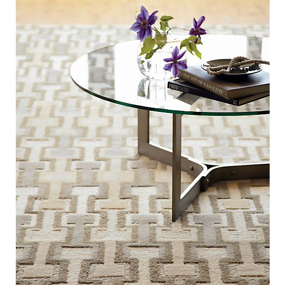Crate and Barrel area rug - RivetCoffeeTableZamarRgAI12