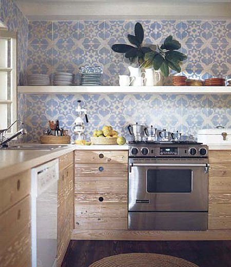blue tile backsplash - 3_2