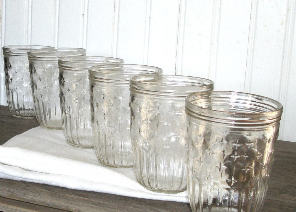 vintage drinking glasses - il_fullxfull.211907835