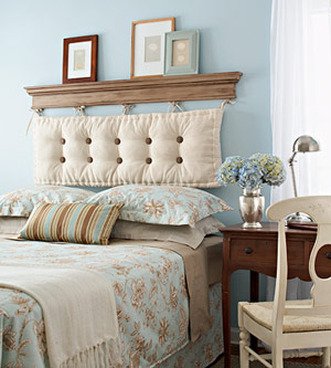 easy to clean and eclectic - headboard-cushion