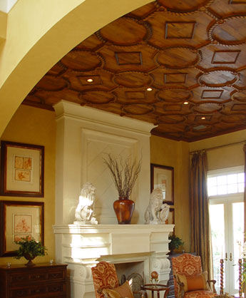 original wood ceiling - taracea-custom-ceiling