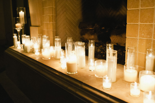 Candle-Wedding-Mantle