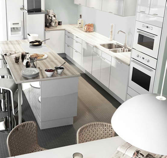 all white kitchen - Kitchen-Design-Ideas-from-IKEA-l-White-Kitchen