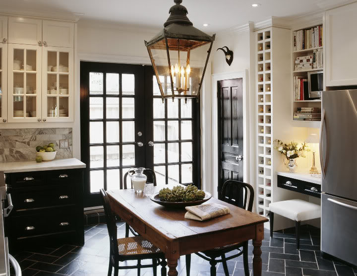 Tommy Smythe Black Window Frame via House and Home 2