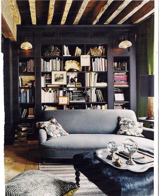 bookcase - black