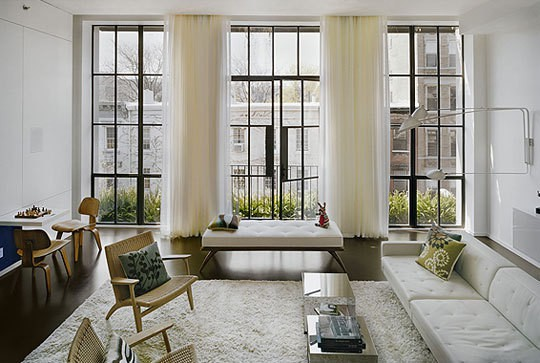 steel frame windows via pinterest and prairie perch