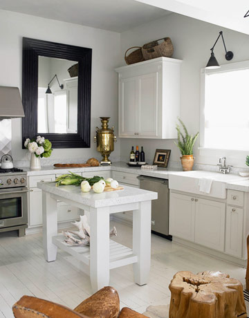 kitchen- sconce, housebeautiful