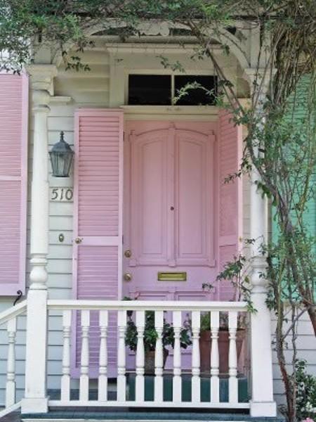 3 - pink door