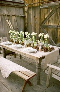 722 - shabby chic outdoor dining