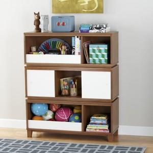 729 - district-storage-bench-bookcase-with-bin