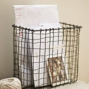 wire basket mail