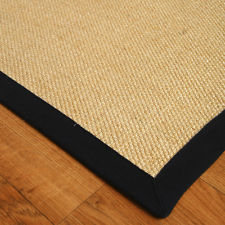 sisal with black band