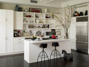 Awasome-White-Kitchen-Cabinets-Design