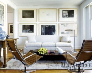 271 - modern and sleek with slipcover sofa