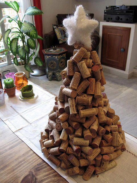 reuse your old corks in a fun way