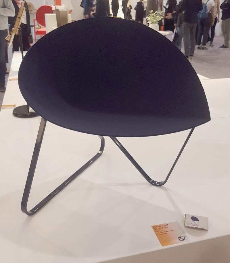I loved the shape of this chair designed my Nina Cho.