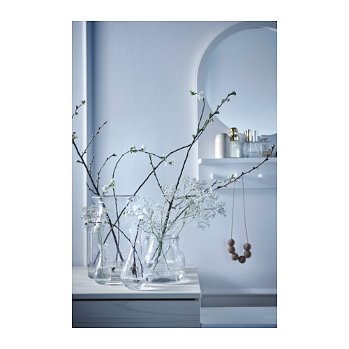That mirror/shelf/peg piece at the back is super practical for a bathroom or front hall. Called the SALTROD, it also comes in a vibrant yellow. $64.99