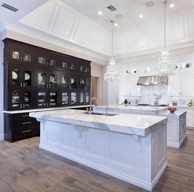 Best 25 Modern Kitchen Island Designs Ideas On Pinterest: Kitchens With Double Islands