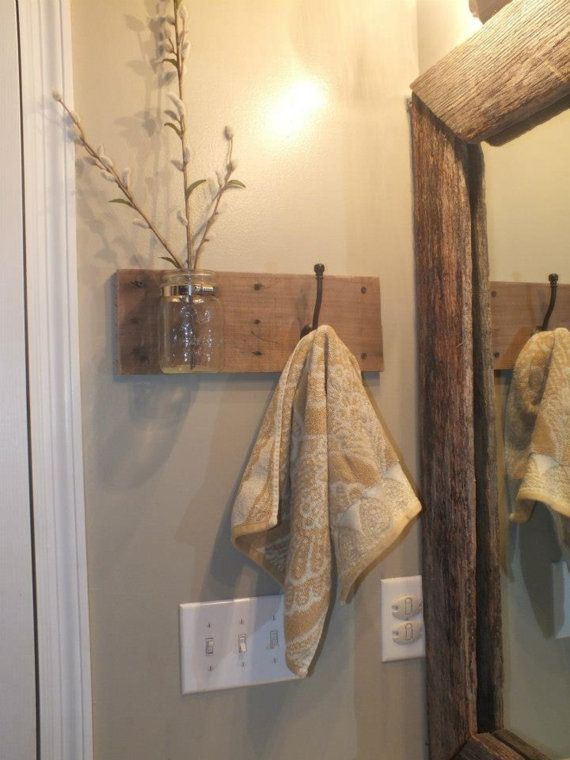 Add warm touches with rustic wood.
